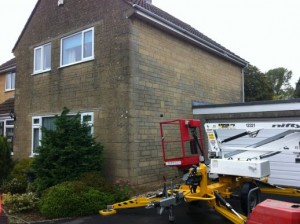 Swindon Stone Cleaning - Before
